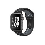 APPLE Watch Nike+ 42mm Aluminium Sport [MNYY2] - Black Grey (Merchant) - Smart Watches