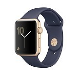APPLE Watch Series 2 38mm Aluminium Sport - Gold/Midnight Blue Strap (Merchant) - Smart Watches