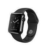 APPLE Watch Series 1 38mm Aluminium Sport - Black (Merchant) - Smart Watches