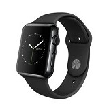 APPLE Watch Series 1 42mm Aluminium Sport - Black (Merchant) - Smart Watches