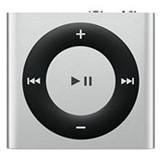 APPLE iPod Shuffle 2GB [MKMG2ID/A] - Silver - MP3 Players