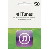 APPLE iTunes Gift Card 50$ Digital Code - Tiket & Voucher