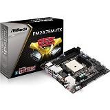 ASROCK Motherboard Socket FM2 [FM2A75M-ITX] - Motherboard AMD Socket FM2 / FM2+