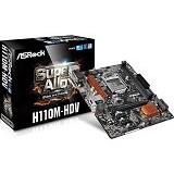 ASROCK Motherboard Socket LGA1151 [H110M-HDV] - Motherboard Intel Socket LGA1151
