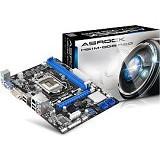 ASROCK Motherboard Socket LGA1155  [H61M-DGS R 2.0] - Motherboard Intel Socket LGA1155