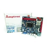 AMPTRON Motherboard Socket LGA 1155 [H61C] (Merchant) - Motherboard Intel Socket Lga1155