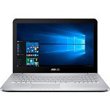 ASUS Notebook N552VX-FW120T - Silver - Notebook / Laptop Consumer Intel Core i7