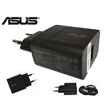 ASUS USB Travel Charger 2A [W12-010N3B] - Black (Merchant) - Charger Handphone