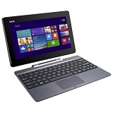 ASUS Transformer Book H100TAF-BING-DK022B - Gray - Notebook / Laptop Hybrid Intel Atom