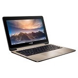 ASUS VivoBook Flip TP201SA-FV0027D Non Windows [90NL00C2-M00930] - Icicle Gold - Notebook / Laptop Hybrid Intel Quad Core