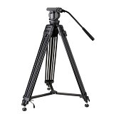TAKARA Attanta Tripod Video VD-2500 - Tripod Combo With Head