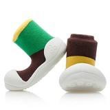 ATTIPAS Happy Walk Size L [AT03- Brown] - Together Brown - Sepatu Anak