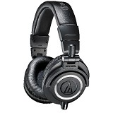 AUDIO-TECHNICA Professional Monitor Headphones [ATH-M50X] - Black