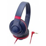 AUDIO-TECHNICA Street Monitoring Headphone [ATH-S300] - Navy - Headphone Full Size