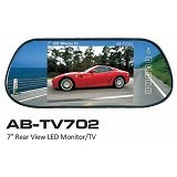 AUDIOBANK Car LED Monitor [AB-TV702] - Black (Merchant) - Audio Video Mobil