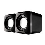 AUDIOBOX U-Cube USB Powered 2.0 Speakers - Grey (Merchant) - Speaker Computer Basic 2.0