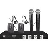 AUDIOCORE Microphone Systems [WHL-1040V] (Merchant) - Microphone Live Vocal
