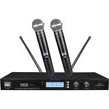 AUDIOCORE Microphone Wireless Systems [WH-3221U] (Merchant) - Microphone Live Vocal
