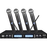 AUDIOCORE Microphone Wireless Systems [WH-3241U] (Merchant) - Microphone Live Vocal