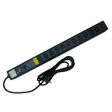 AUSTIN HUGHES Vertical Basic PDU 12 outlet C13 16A [V12C13-16A/F_CEE7/3B-1] - Rack Option Power Distribution / Pdu