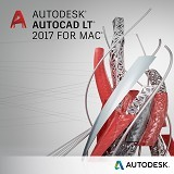 AUTODESK AutoCAD LT 2017 for MAC (1-Year Subscription) - Software Cad / Cam Licensing