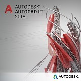 AUTODESK AutoCAD LT 2018 (1-Year Subscription) - Software Animation / 3d Licensing