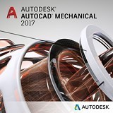 AUTODESK AutoCAD Mechanical 2017 3-Year Subscription with Advanced Support - Software Animation / 3d Licensing