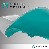 AUTODESK Maya LT 2017 Annual Subscription with BasicSupport (4 seats + 1 seat FREE) - Software Animation / 3d Licensing