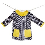 AVA & ARCHIBALD Bolly Yellow Dress - Dress Bepergian/Pesta Bayi dan Anak