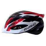 AVAND Helm Sepeda 06 - Red White - Helm Sepeda