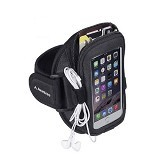 AVANTREE NinjaMultifunction Sports Armband [6642502500] - Black - Arm Band / Wrist Strap Handphone