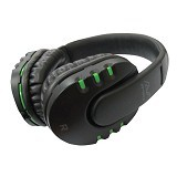 AVF Headset Cyber Full Cover Stereo [HM055 ] - Green (Merchant) - Gaming Headset