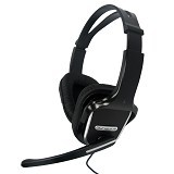 AVF Headset Full Cover Digital Stereo [HM500] - Black (Merchant) - Headset Pc / Voip / Live Chat