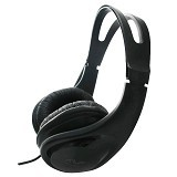 AVF Headset Medium Cover Digital Stereo [HM2107] - Black (Merchant) - Headset Pc / Voip / Live Chat