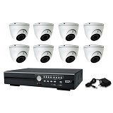 AVTECH CCTV VANDAL PROOF PAKET HDTVI 2.0 MP [IO80] - Cctv Camera