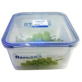 AZALEA Food Container Square 1300ml [FSQ-22] - Wadah Makanan