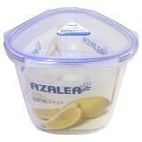 AZALEA Food Container Triangle 1600ml [FTR-22] - Wadah Makanan