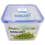 AZALEA Food Container Square 2000ml [FSQ-23 ] - Wadah Makanan