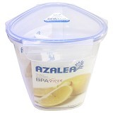 AZALEA Food Container Triangle 2100ml [FTR-23] - Wadah Makanan