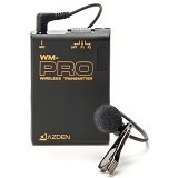 AZDEN VHF Wireless Lavalier Microphone System [WLX-PRO] (Merchant) - Microphone System