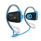 Awei BSport Stereo Headphones and Earhook - Blue (Merchant) - Headset Bluetooth
