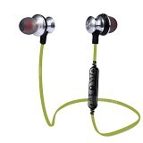 Awei Bluetooth 4.0 Wireless Sports Earphones with Handsfree [A980BL] - Green (Merchant) - Headset Bluetooth