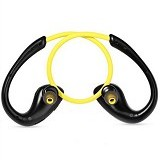 Awei Wireless Bluetooth V4.0 Headphones Sports Stereo Earphones [A880BL] - Yellow (Merchant) - Headset Bluetooth