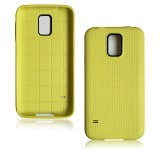 B-SAVE Dots Back Cover for Samsung S5 - Yellow