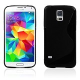 B-SAVE S Back Cover for Samsung S5 - Black - Casing Handphone / Case