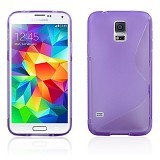 B-SAVE S Back Cover for Samsung S5 - Purple - Casing Handphone / Case