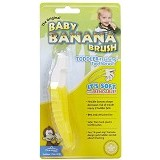 BABY BANANA BRUSH Bendable Training Toothbrush Toddler [8HLB1] - Sikat Gigi Bayi dan Anak