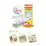 BABY CUBES 4 X 140 ml - Media Penyimpanan Susu dan Makanan Bayi