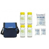 BABY PAX Cooler Bag [c-blue] - Blue - Breast Care