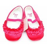 BABYZANIA Prewalker Tutu Size 11cm [Z-6152] - Fuschia - Sepatu Anak